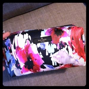 Kate Spade ♠️Blurry Floral Cosmetic Bag